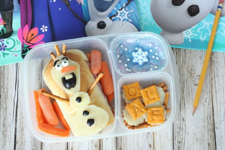 Frozen-themed lunch   The Dating Divas