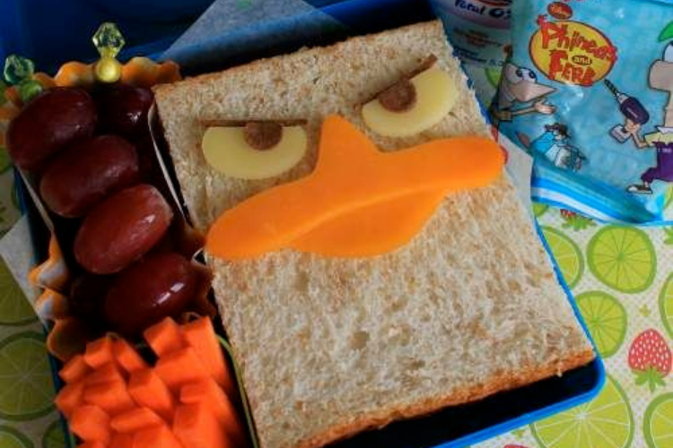 Perry the Platypus sandwich   The Dating Divas