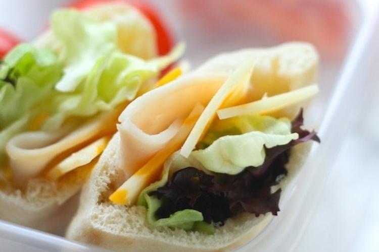 Mini salad pita pockets   The Dating Divas