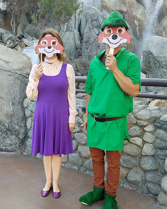Robin Hood provides many family costume ideas, Disney version or otherwise. | The Dating Divas