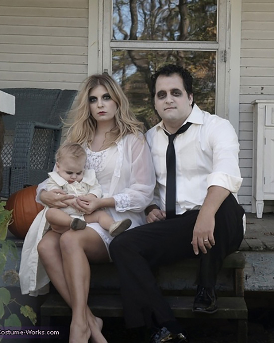 Ghost family costume ideas. | The Dating Divas