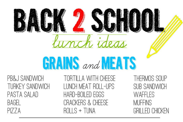 School lunch printable   The Dating Divas