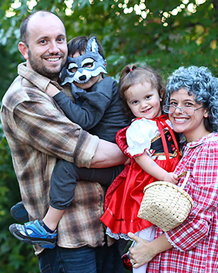 Fairytale family costume ideas like Little Red Riding Hood are classic. | The Dating Divas