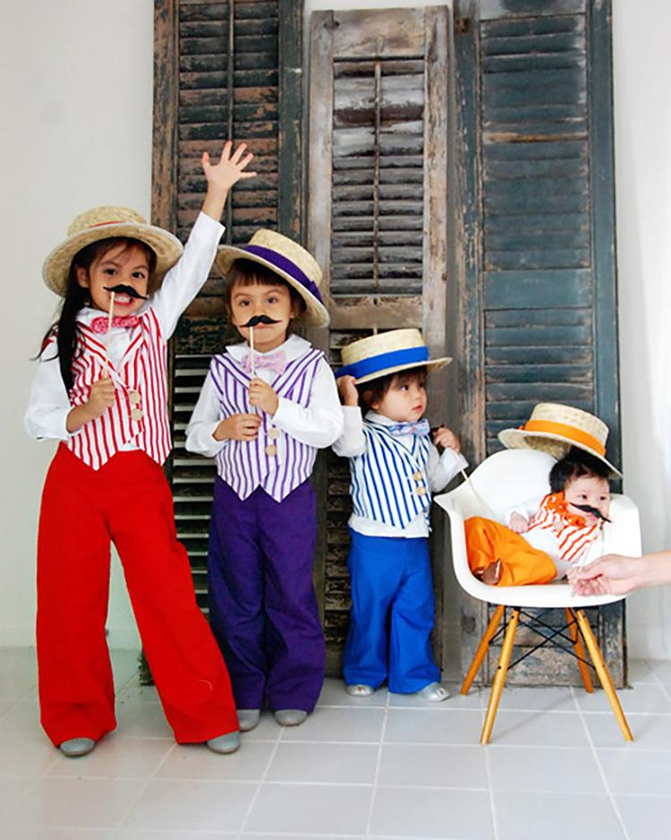 A unique, barbershop family costume idea. | The Dating Divas