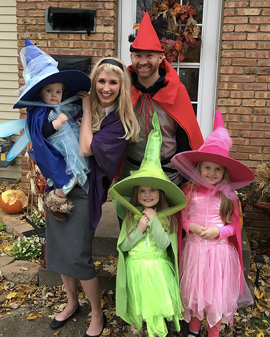 3 good fairies and more fun family costume ideas. | The Dating Divas
