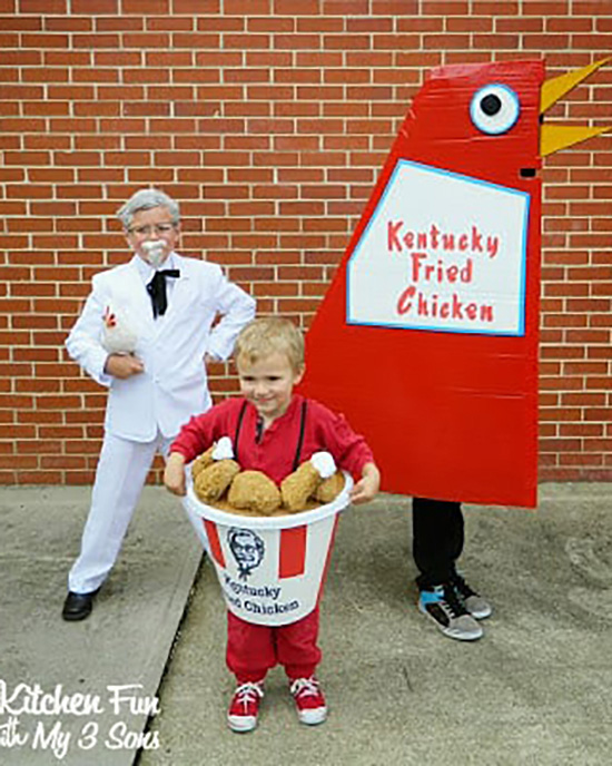Did you know family costume ideas can come from fast-food restaurants? | The Dating Divas