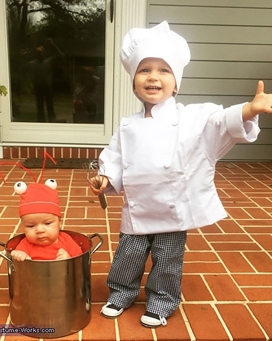 Lobster and chef family costume ideas. | The Dating Divas