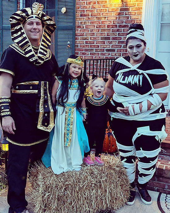 Egyptian and mummy awesome Halloween costumes. | The Dating Divas