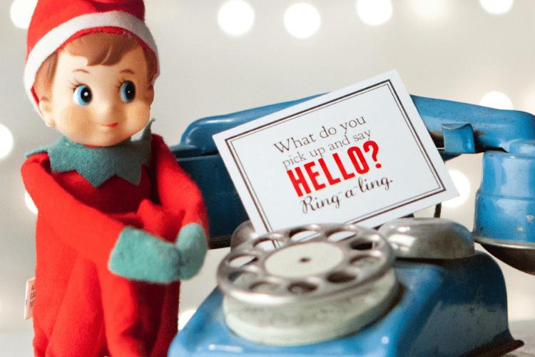 Elf on the shelf scavenger hunt   The Dating Divas
