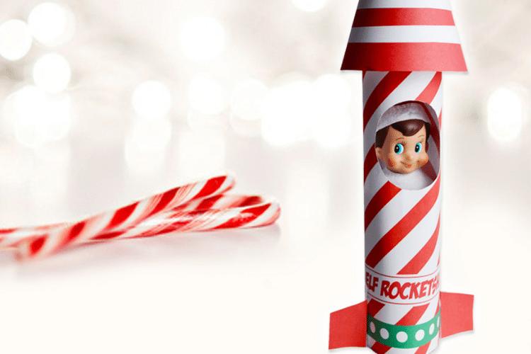 Elf on the shelf inside rocket ship   The Dating Divas
