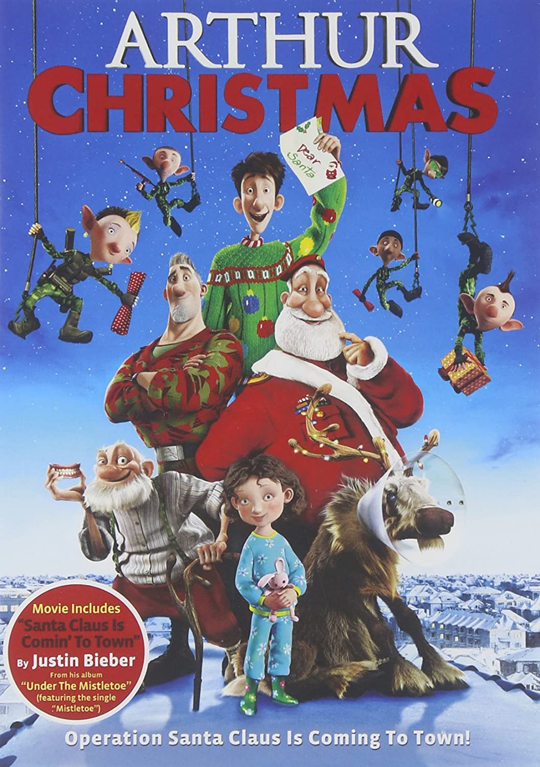 Arthur Christmas is top 10 Christmas movie for families. | The Dating Divas