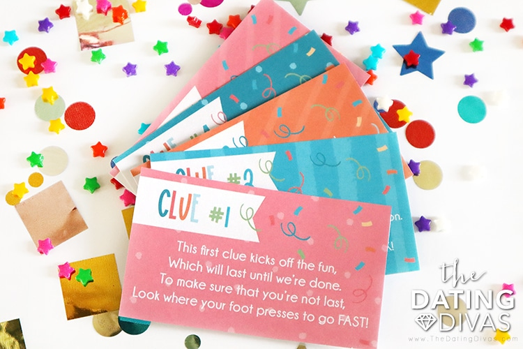 Clues for a Birthday Scavenger Hunt | The Dating Divas
