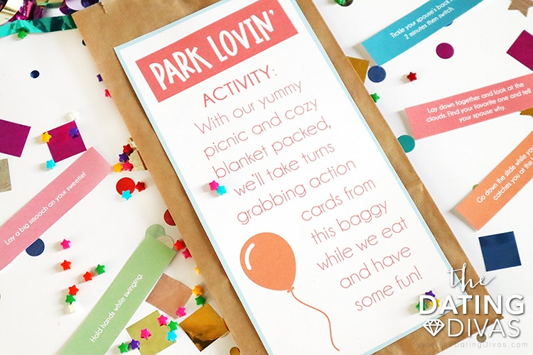 Park Date Scavenger Hunt Ideas for a Birthday | The Dating Divas