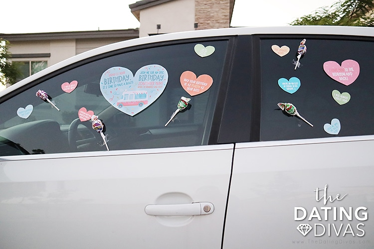 Birthday scavenger hunt ideas out of the house to celebrate a birthday | The Dating Divas