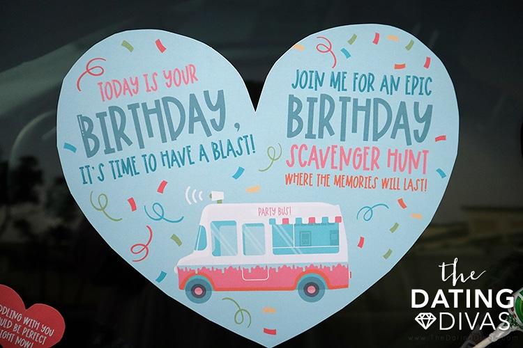 Scavenger Hunt Ideas for Your Boyfriend or Husband on their Birthday | The Dating Divas