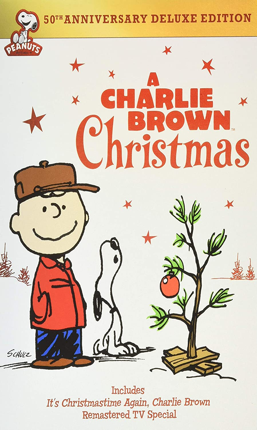 Celebrate with the Peanuts' Christmas movie.