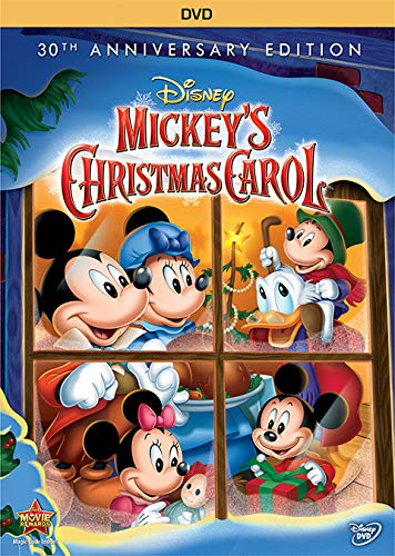 The Christmas carol from Mickey's eyes. | The Dating Divas