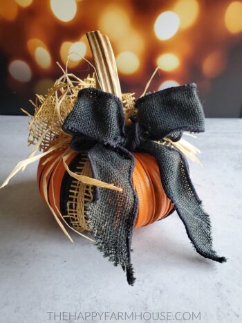 How to make a pumpkin decorations | The Dating Divas