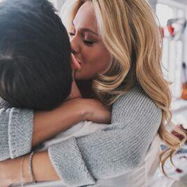 Love calendars couple hugging, kissing | The Dating Divas