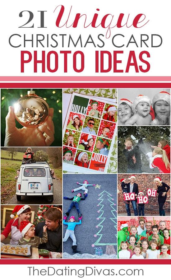 cute ideas for holiday photo cards - 101 Creative Christmas Card Ideas The Dating Divas