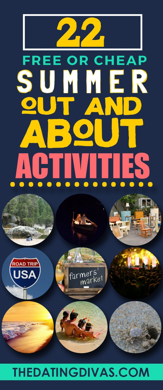 Excellent out and About Summer Activities