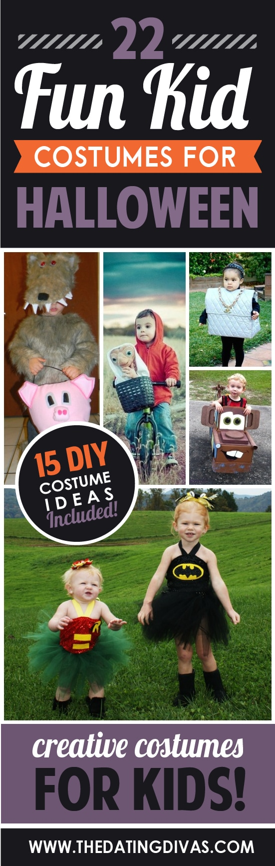 22 fun kid halloween costumes