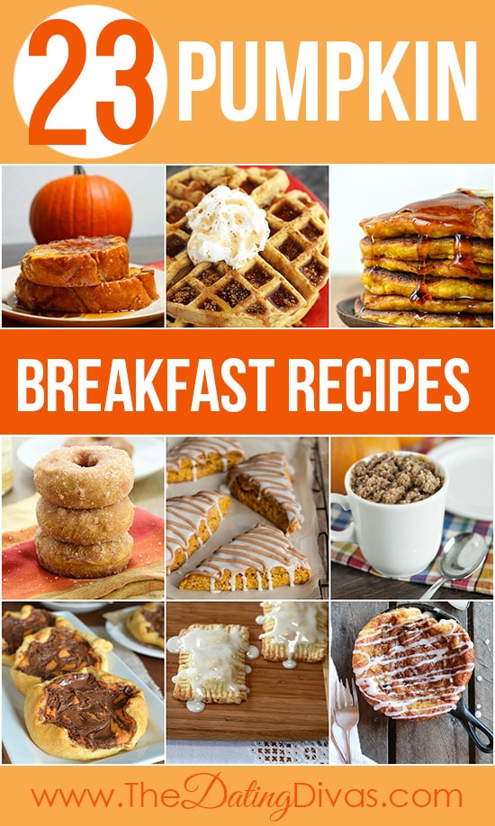 23 Pumpkin Breakfast Recipes