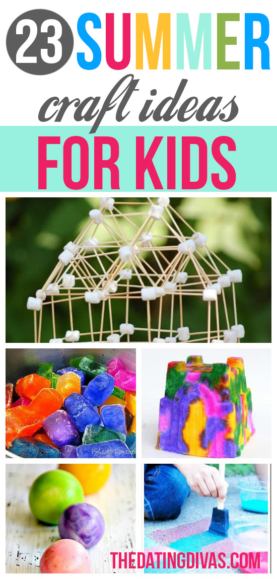 23 Summer Craft Ideas for Kids