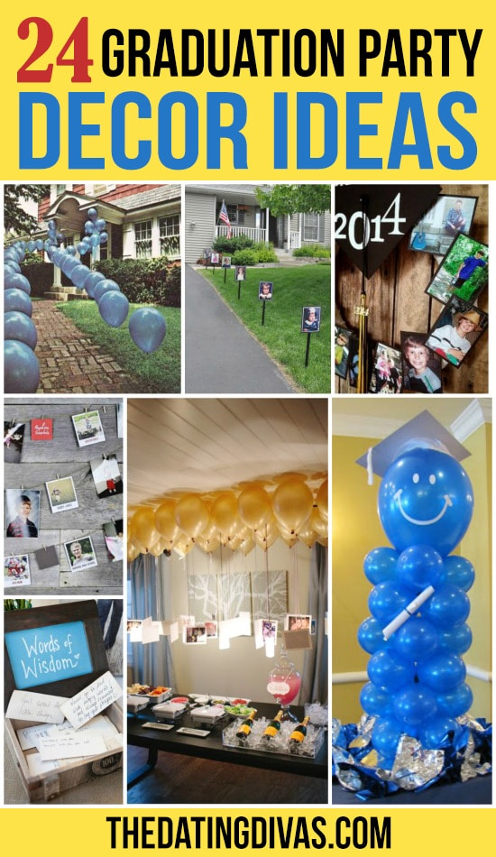 24 Graduation Party Decorating Ideas