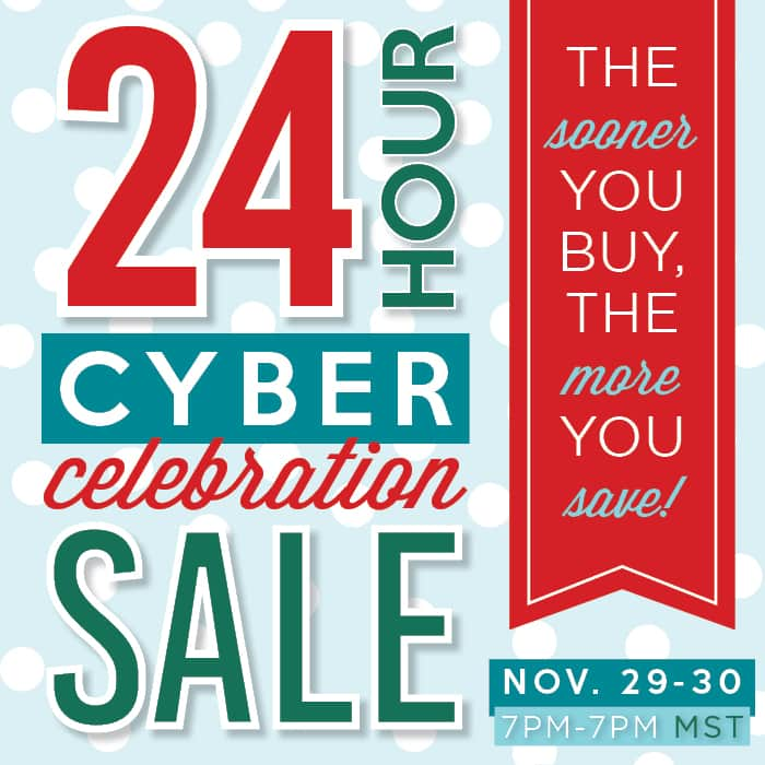 24 Hour Cyber Celebration Sale - Instagram