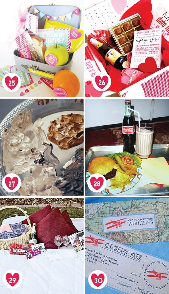 100 Romantic Ideas for Valentine Date Nights