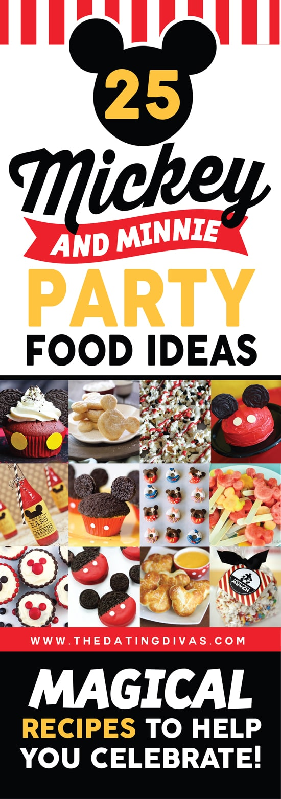 25 Disney Themed Party Food Ideas