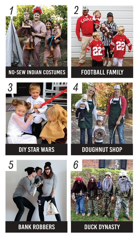 25 DIY Family Halloween Costume Ideas
