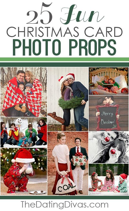 25 Fun Christmas Card Photo Props