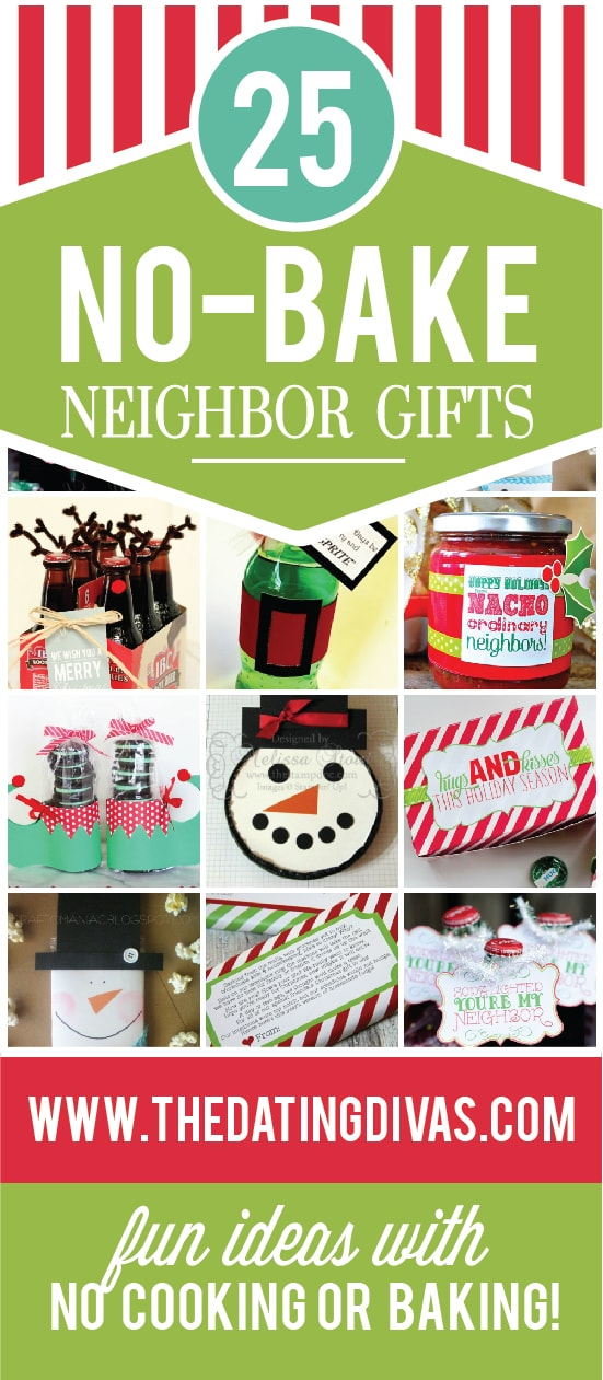 25 No-Bake Christmas Neighbor Gifts