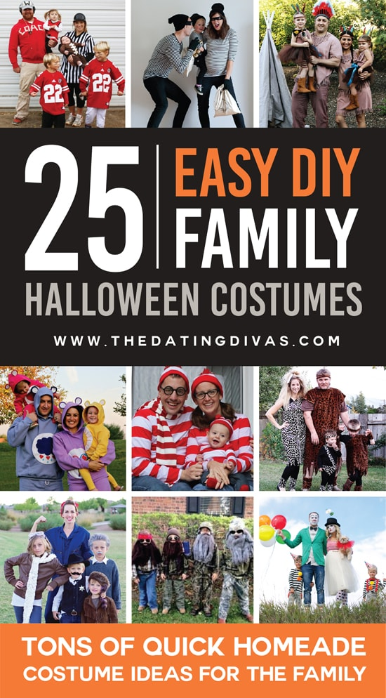 25 Quick DIY Family Costume Ideas