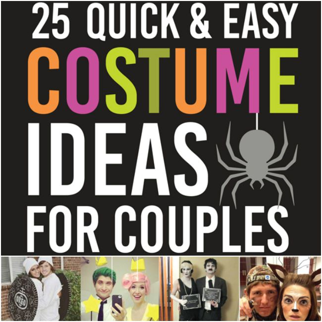 25 Quick Costume Ideas for Couples   Round Two