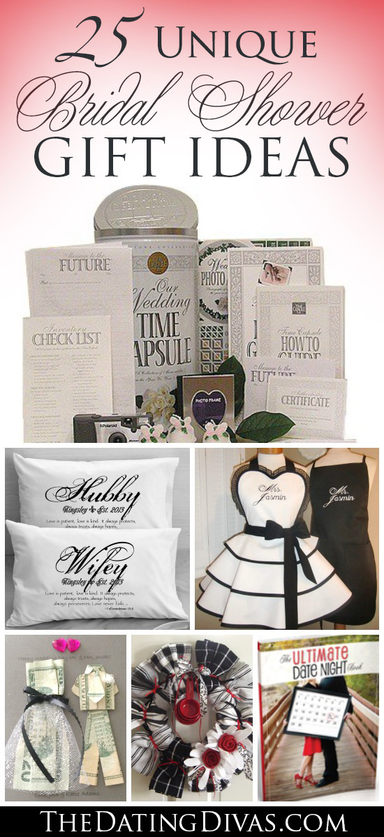 Wedding Gift Ideas Activities : Unique Wedding Shower Gifts 25 Unique Bridal Shower Gift