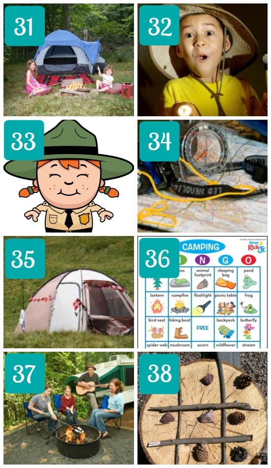 26 Camping Games for Kids