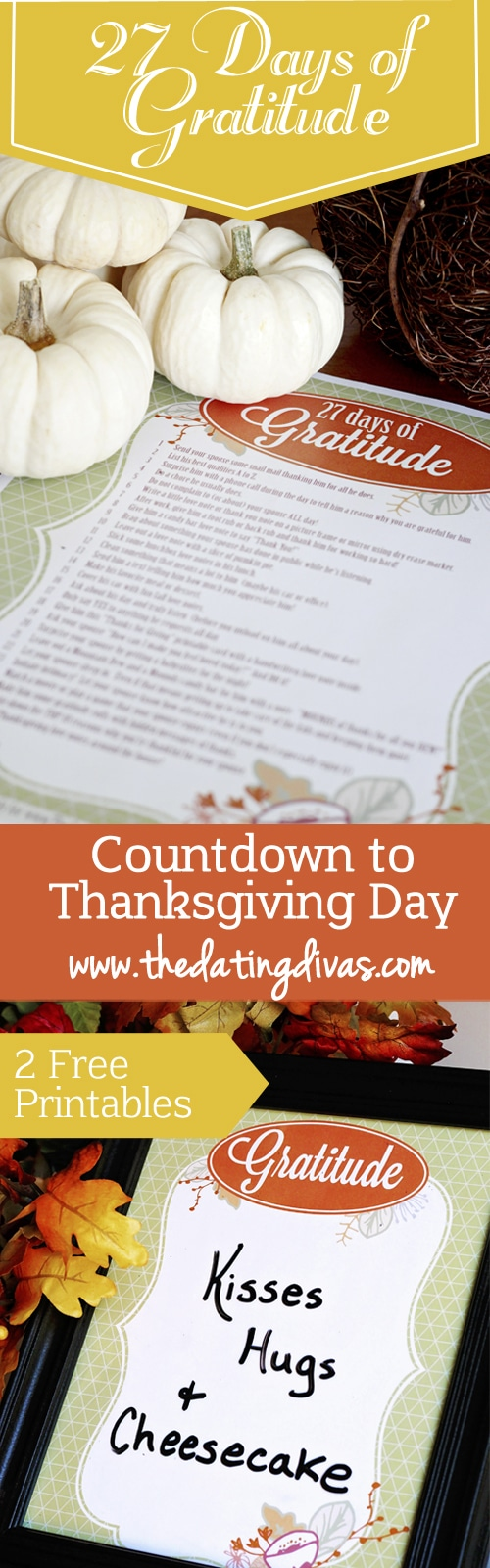 27 Days of Gratitude Pinterest