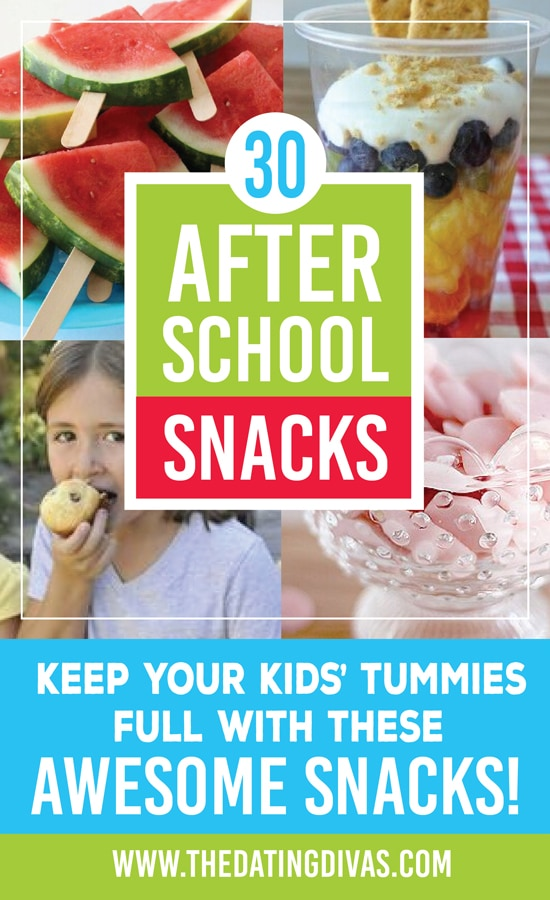 30 After School Snack Ideas