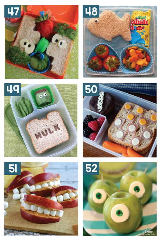 30 Creative School Lunch Ideas for Kids