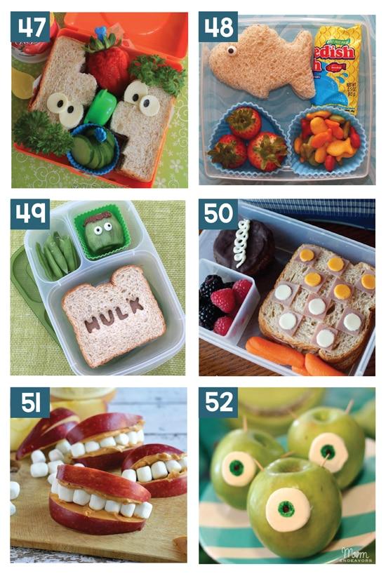 30 Creative School Lunch Ideas for Kids