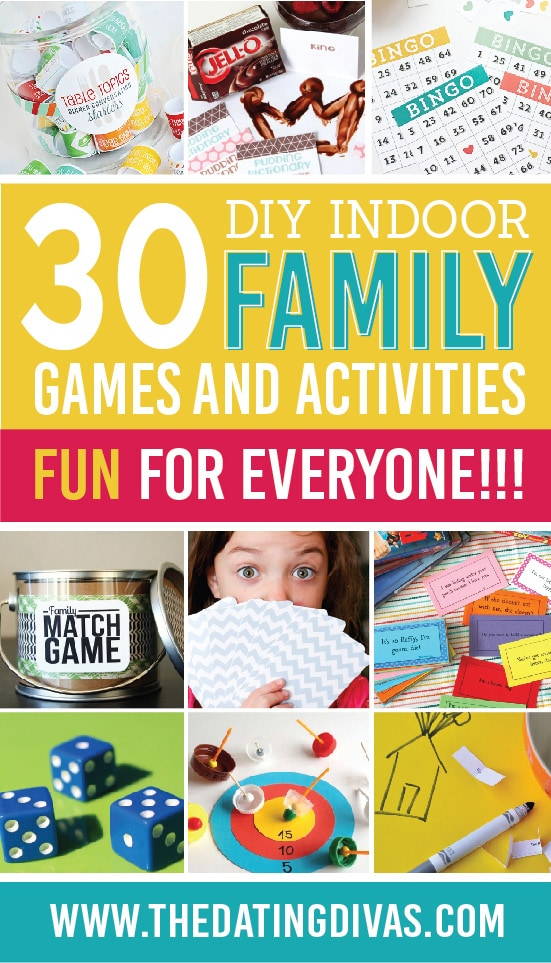 Indoor Games and Activities That Are Fun For Everyone!