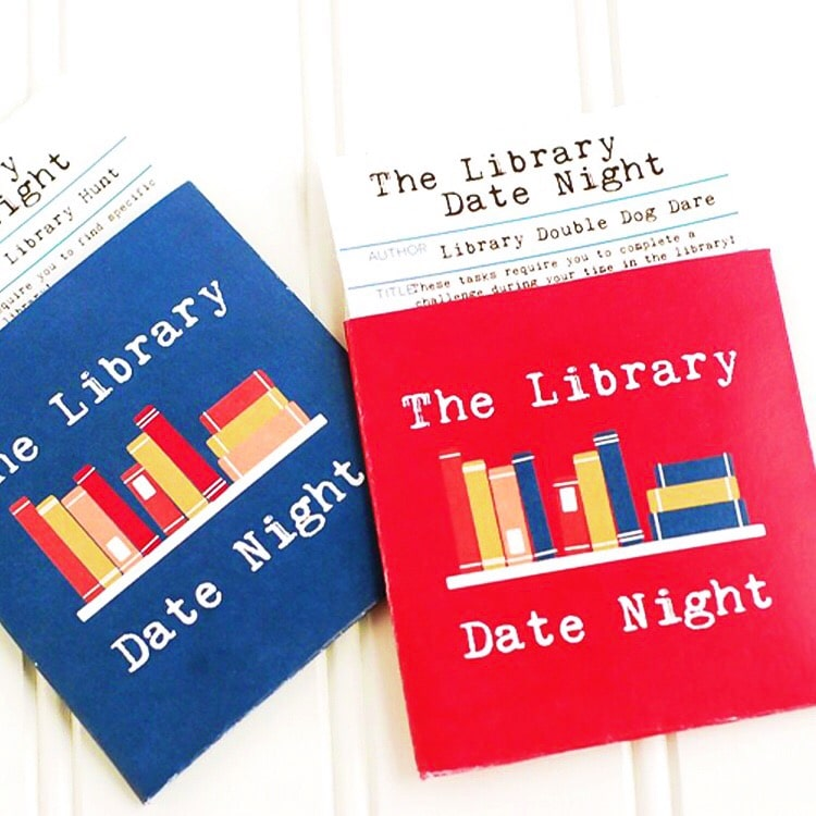 The Library Date- free, easy and super FUN!