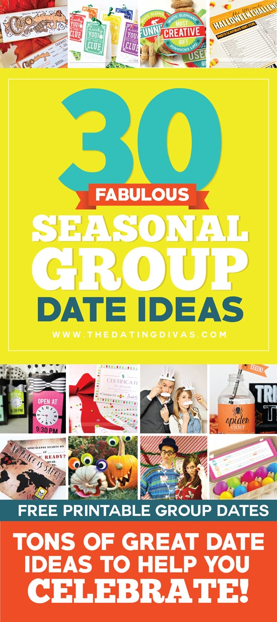 Fun Seasonal Group Date Ideas and Double Date Ideas