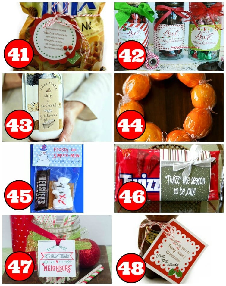 31 No Bake Holiday Neighbor and Friend Gifts
