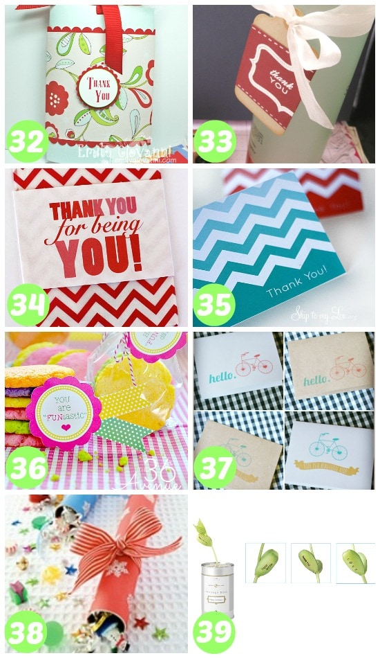 32-39 ways to say thank you with a gift