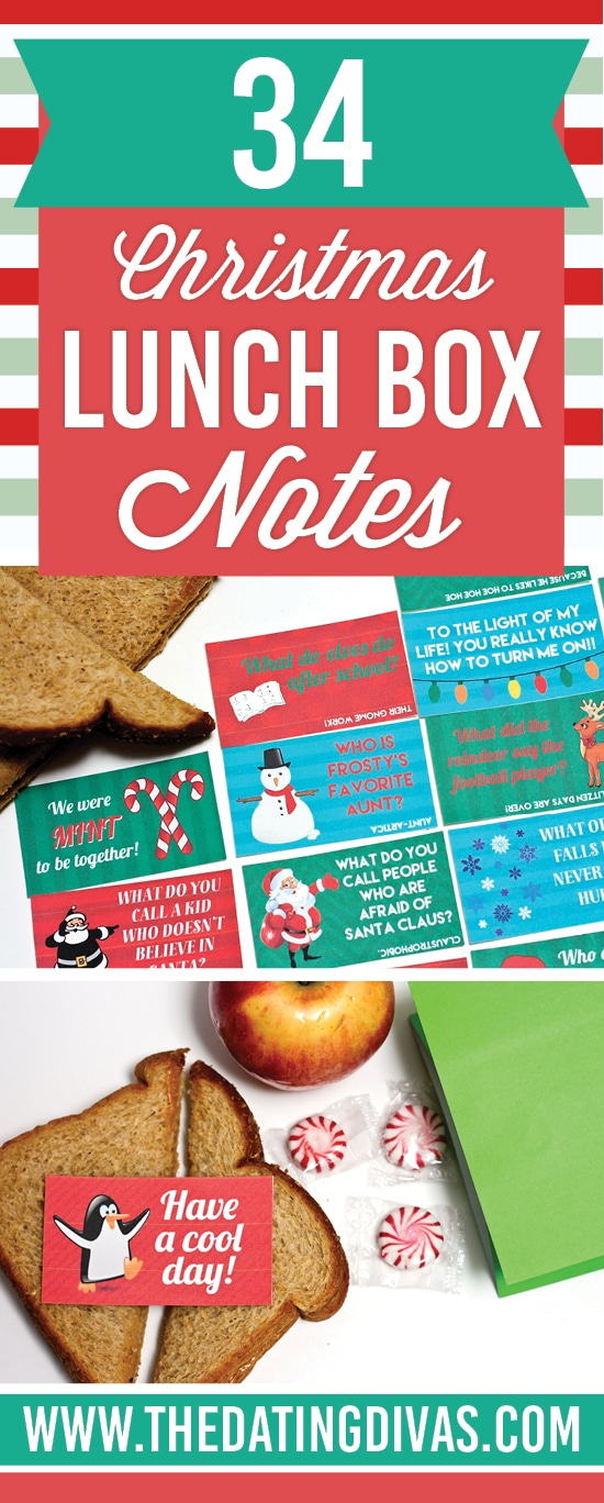 Christmas Wonderful: Christmas Lunch Notes - Design Dazzle |Christmas Lunch Box Notes