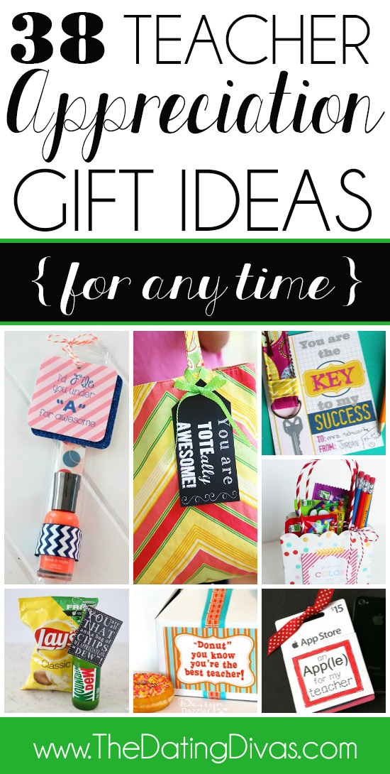 101 easy amp creative teacher gift ideas round two